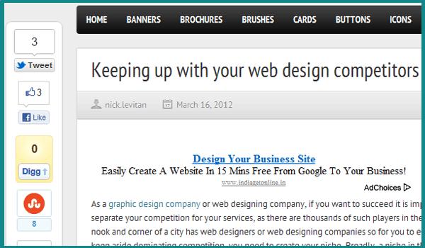 web design competitors