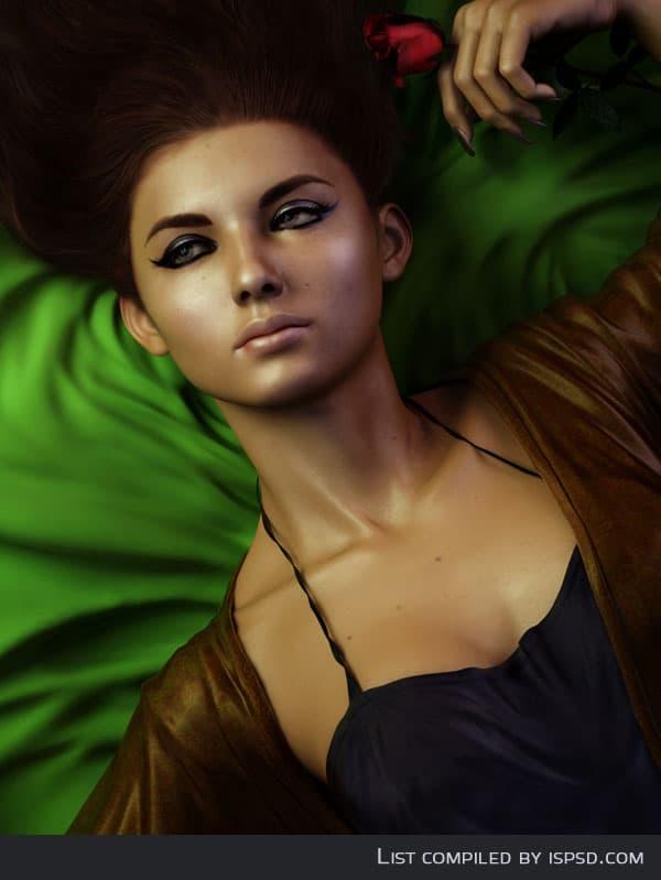 3d-model-girl