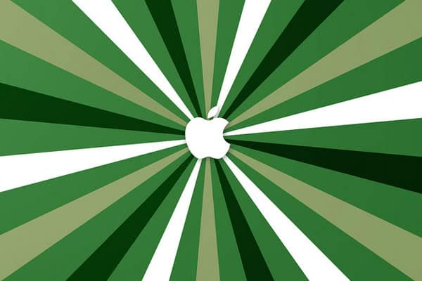 green-apple-logo-ipad-wallpaper