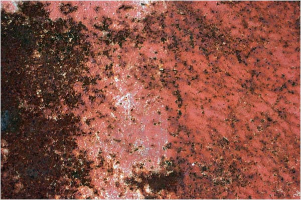 Surface of Rusty Red Metal