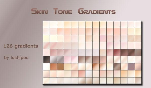 Skin Tone Gradients