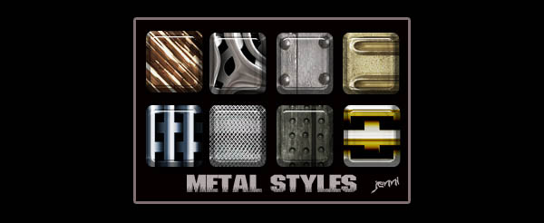 Photoshop Metal Styles