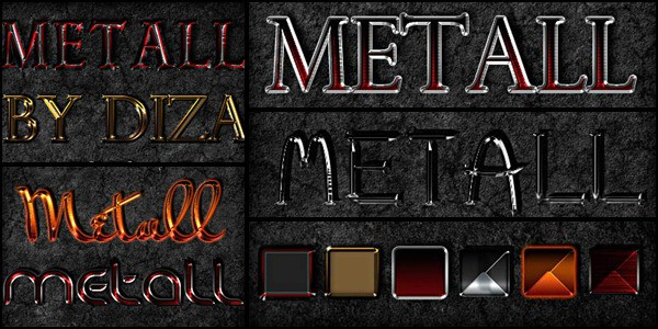 Color metal styles