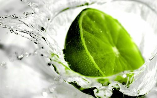 green lime fruit