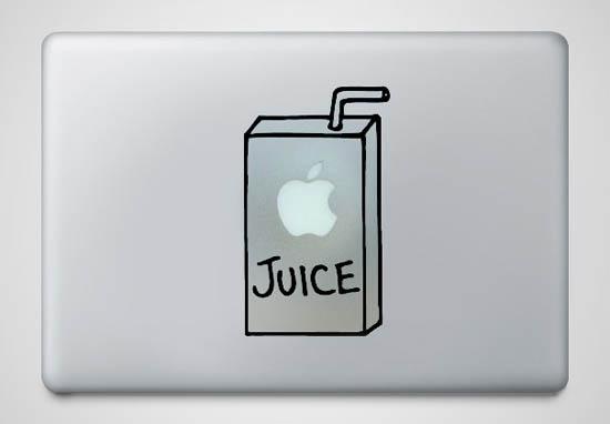 Apple-Juice-MacBook-Sticker