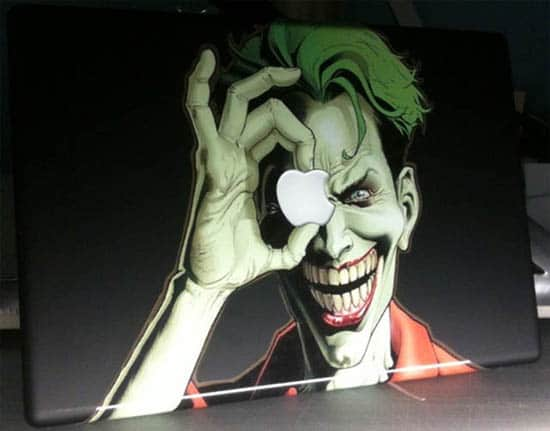 Joker-MacBook-Decal-Sticker