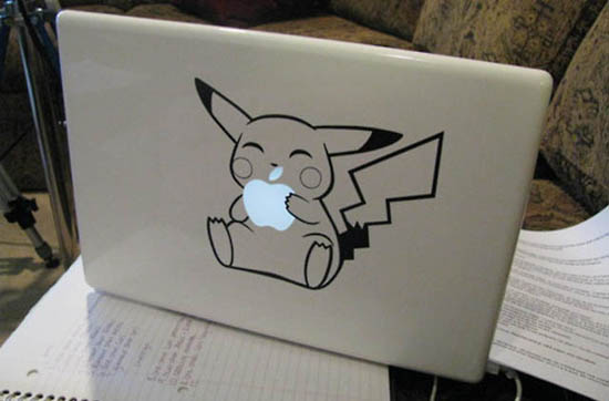 Pikachu-MacBook-Sticker