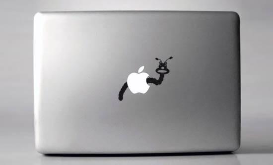 Wormy-Macbook-Sticker