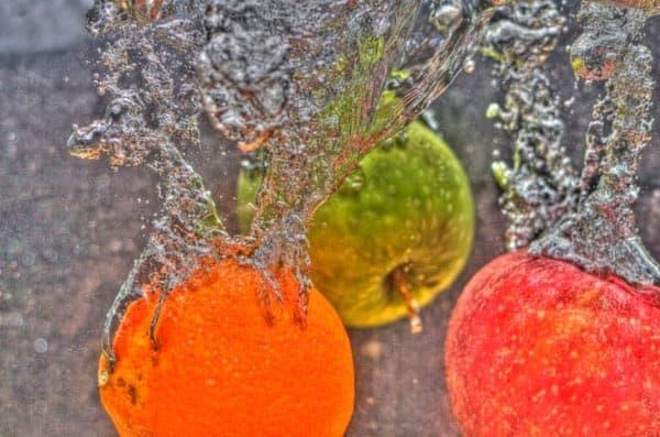 glow in fruit