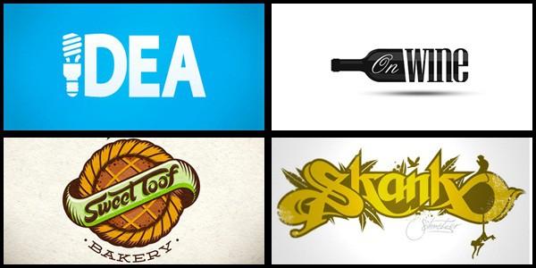Typography Logo Designs