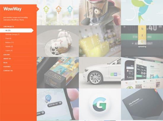 wowway WordPress Grid Themes