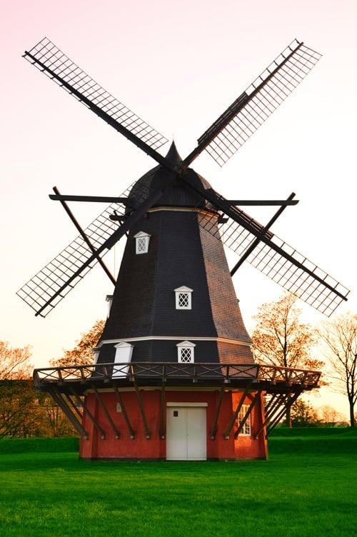 Windmill at Kastellet