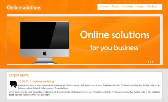 19 Online Solutions HTML5 and CSS3 Template