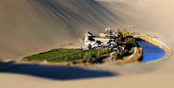 Create Tilt-shift photography using Photoshop Cs6