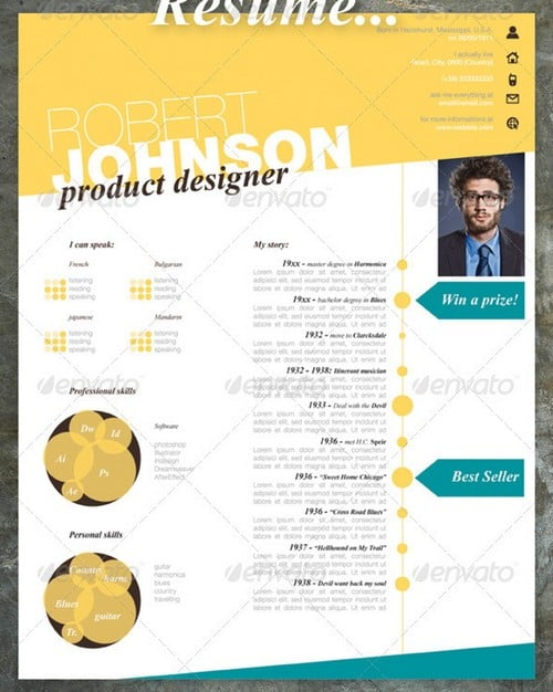 modern and professional resume template examples 21