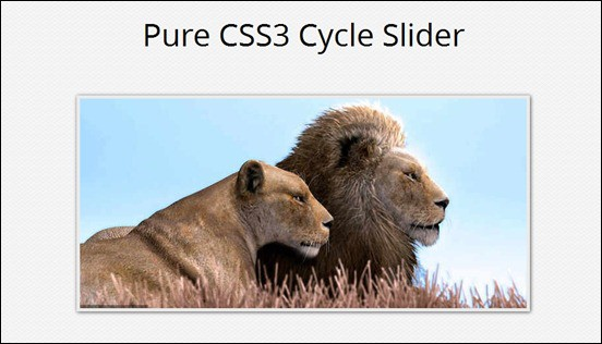 pure-css3-cycle-slider