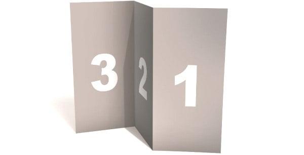 blank tri fold brochure template mock up psd. Black Bedroom Furniture Sets. Home Design Ideas