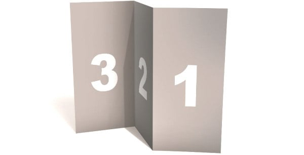 Blank Tri Fold Brochure Template Mockup PSD – Blank Tri Fold Brochure Template