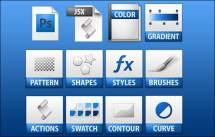 photoshop preset icons