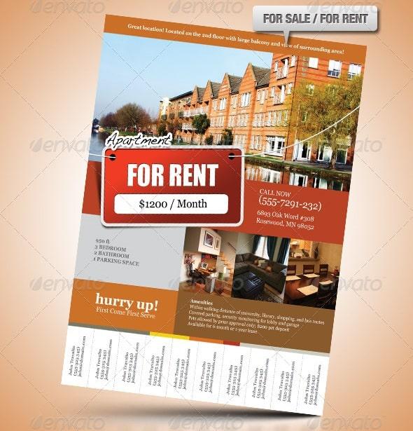 Elegant Real Estate Flyer Set