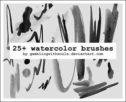 25-watercolor-brushes
