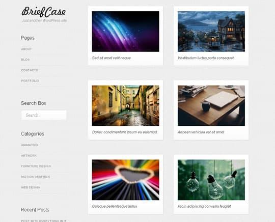 free wordpress themes 2012