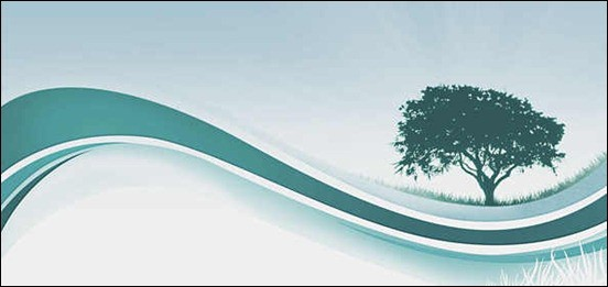 abstract-background-set-based-on-tree-silhouettes