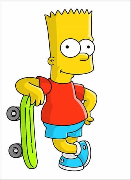 create-a-bart-simpson-charater-