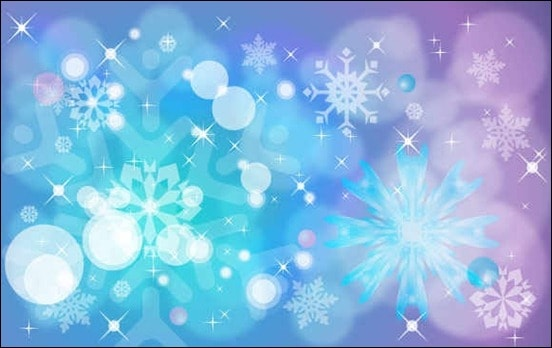free-vector-winter-background