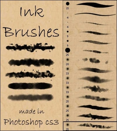 ink-and-watercolor-brushes