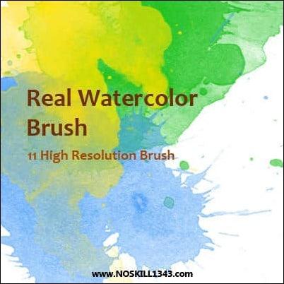 real-watercolor-brush