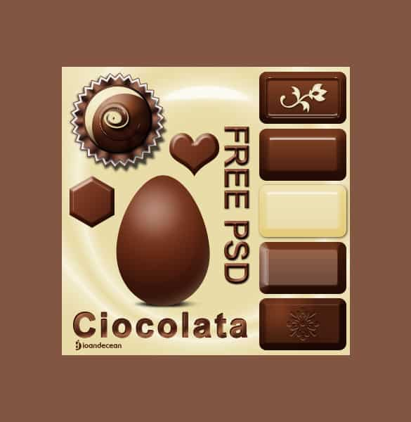 Ultimate Chocolate Lovers PSD