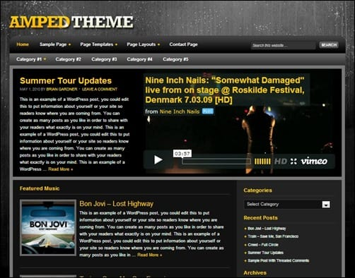 Amped-wordpress-music-theme