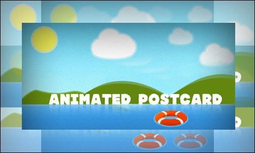 Animated Postcard