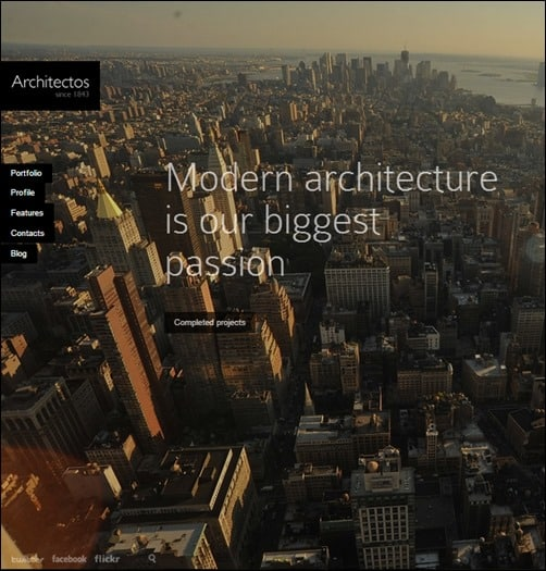 Architectos-simple-wordpress-themes