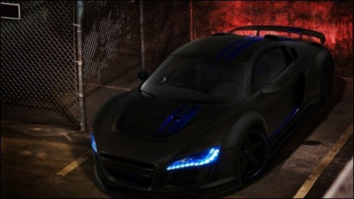 Black-Audi-r8-black-wallpaper