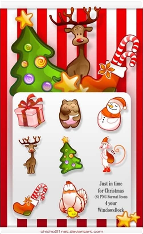 Christmas-Dock-Icons