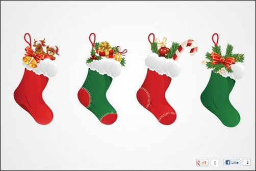Christmas-Stocking-Vector