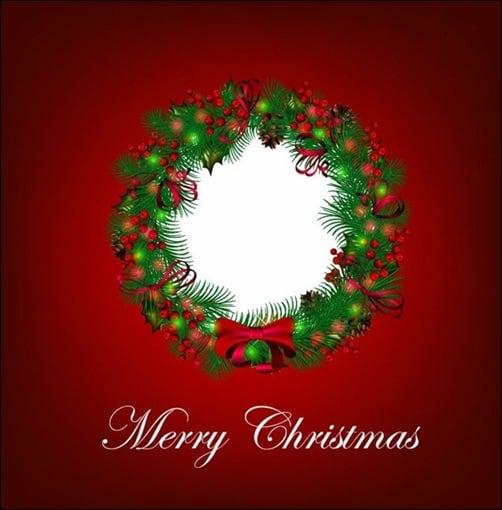 Christmas-Wreath-Vector