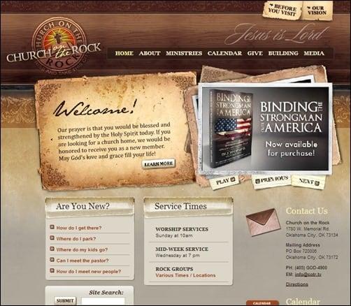 Church-of-the-Rock-church-websites