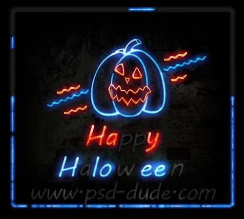 Create-a-Halloween-Neon-Sign-in-Photoshop