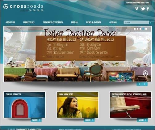 Crossroads-Church-church-websites
