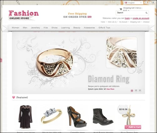 Fashion-opencart-templates