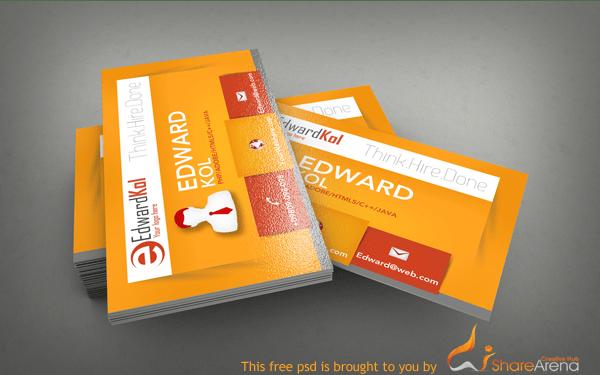 free premium business card