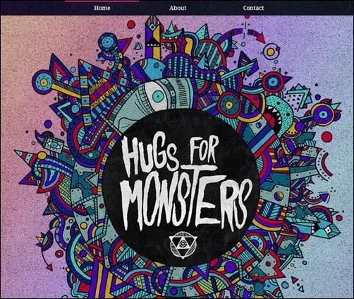 Hugs-for-Monsters-web-designs