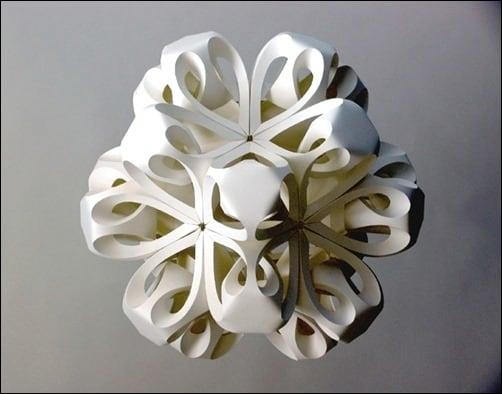 Icosahedron-II-paper-art