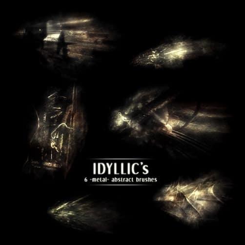 Idyllic's--Metal--Brushes-metal-texture