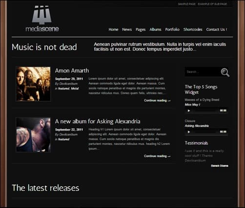 MediaScene-wordpress-music-theme