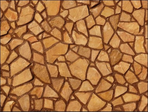 Orange-Jagged-Stone-Wall-stone-texture