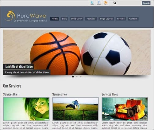 Pure-Wave-drupal-7-themes